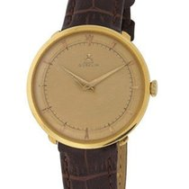 Gübelin Pre-Owned 34mm  18K Gold Dress Watch - Gold Tone Dial...
