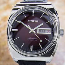 Citizen Manhattan Mens Made In Japan Vintage Manual Wind Rare...