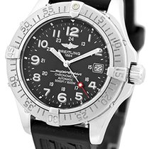 """Breitling """"SuperOcean"""" Diver Automatic Strapwatch."""