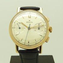 Zenith NOS Vintage 18K Rose Gold Medico-Compax Chronograph 146D