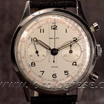 "Gallet Waterproof ""jim Clark"" Style Steel 37 Mm..."