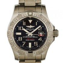 Breitling Avenger II Seawolf Stahl Automatik Chronometer 45mm...