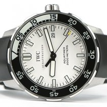IWC Aquatimer 2000 White Dial Rubber Strap 44mm IW356809...