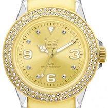 Ice Watch Stone Tycoon Swarovski Polyamide Gold Plated Unisex...