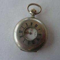 Omega pocket watch, 'half hunter'