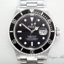Rolex SUBMARINER DATE 16610 T STAHL AUTOMATIK REHAUT 2010