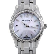 Hamilton Jazzmaster Womens Stainless Steel Quartz Watch H322810