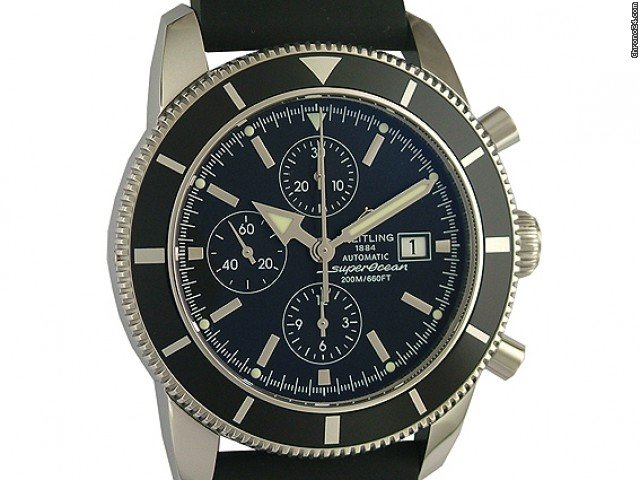Breitling Superocean Heritage Chronograph Kautschuk 46mm