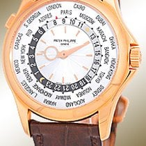 "Patek Philippe Gent's 18K Rose  ""World Timer""..."
