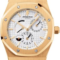 Audemars Piguet Royal Oak Dual Time Power Reserve 18K Solid...