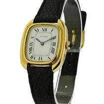 Cartier vintage_tonneau_18kt_white_roman Vintage Tonneau...