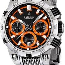 Festina Chrono Bike 2014 F16774/6 Herrenchronograph Massives...