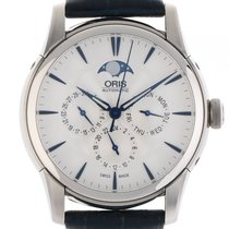 Oris Artelier Complication Mondphase Stahl Automatik Armband...