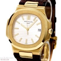 Patek Philippe Nautilus Ref-5711J-001 18k Yellow Gold Box...