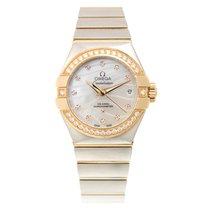 Omega Constellation Gold And Steel White Automatic 12325272055004