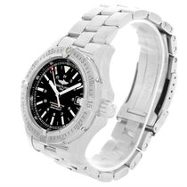 Breitling Colt Automatic Stainless Steel Black Dial Mens Watch...