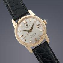 Omega Seamaster Calendar 18ct yellow gold automatic watch