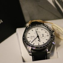 Omega Speedmaster Moonwatch Apollo 13 Silver Snoopy Award