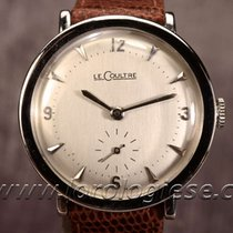 Jaeger-LeCoultre Classic Vintage Solid White Gold Coin-edge...