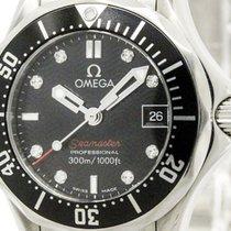 Omega Polished Omega Seamaster Pro 300m Diamond Watch 212.30.2...