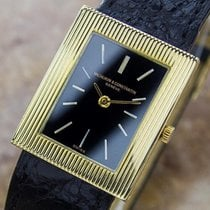 Vacheron Constantin 18k Solid Gold Mid Size Swiss Watch C1980 B22