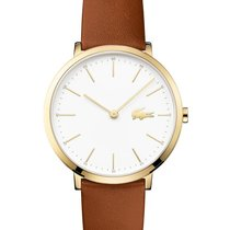Lacoste Moon Ultra Slim Womens Watch - Gold-Tone - White Dial...