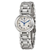 Longines PrimaLuna Silver Dial Stainless Steel Ladies Watch...