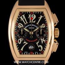 Franck Muller 18k Rose Gold Conquistador Chrono Gents B&P...