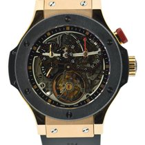 Hublot Bigger Bang Tourbillon Limited Ed 18K Rose Gold