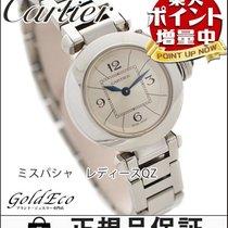 Cartier 【カルティエ】 ミスパシャ レディース腕時計【中古】 W3140007 クォーツ ステンレス/シルバー文字盤