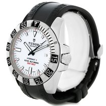 Tudor Hydronaut Ii White Dial Mens Steel Watch 20040