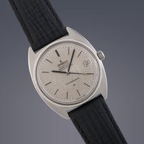 Omega Gents Constellation watch steel automatic on strap