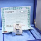 Rolex Pearlmaster Mother Of Pearl Diamond Dial 18K Gold