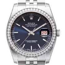 rolex datejust 36 116244 diamant blau jubil dia jubil band for 13 432 for sale from a trusted. Black Bedroom Furniture Sets. Home Design Ideas
