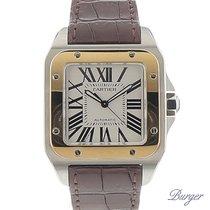 Cartier Santos 100 Gold/Steel Large