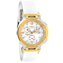 Tissot T-Race Ladies White Strap Quartz Chronograph Watch...