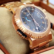 Breguet Marine Royal 5847 Brz2rz0 18k Rose Gold Box/papers...