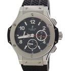 Hublot Big Bang SS Ceramic Chronograph Carbon Fiber 41mm Watch