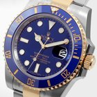 Rolex 18K/SS Ceramic Blue Submariner - Unworn - 116613 model