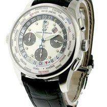 Girard Perregaux World Time Chronograph Financial F.T.C. in Steel