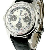 Girard Perregaux World Time Chronograph Financial F.T.C. in Steel