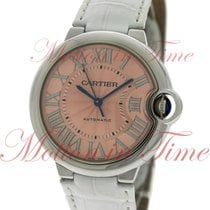 Cartier Ballon Bleu 36mm Automatic, Pink Dial - Stainless...