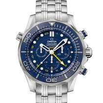 Omega Seamaster Diver 300 M Co-Axial GMT Chrono -including 21%VAT