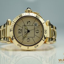 Cartier Pasha 750/18K Ref:1989