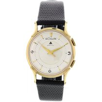 Jaeger-LeCoultre Men's  Memovox 14K Yellow Gold Watch