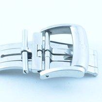 Baume & Mercier Leder Armband Faltschliesse 20mm Edelstahl