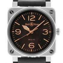 Bell & Ross Aviation BR 03-92 Golden Heritage Stahl...