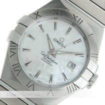 Omega Constellation Brushed Chronometer Stahl 123.10.31.20.05.001