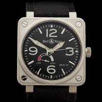 Bell & Ross BR01-97 Power reserve Stainless Steel Gents...