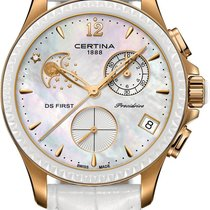 Certina DS First Lady Keramik Chrono Mondphase C030.250.36.106...